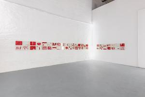 Maurizio Pellegrin - The Red, the Black and the Other - installation view 9