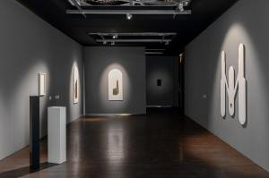 Between space and surface, Installation view, 2021 - Foto di Irene Fanizza