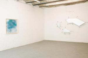 Drawing, Timegraft, installation view, Sala Superiore, Martino Genchi, 2017. Courtesy the artist and Galleria Michela Rizzo