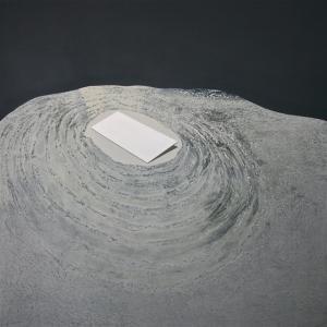 source | tecnica mista su tela | 130×130 cm, 2015