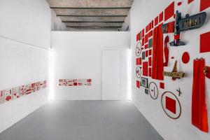 Maurizio Pellegrin - The Red, the Black and the Other - installation view 6
