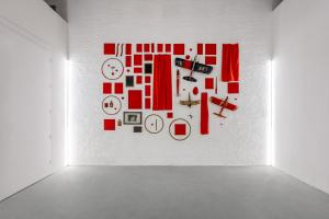 Maurizio Pellegrin - The Red, the Black and the Other - installation view 8